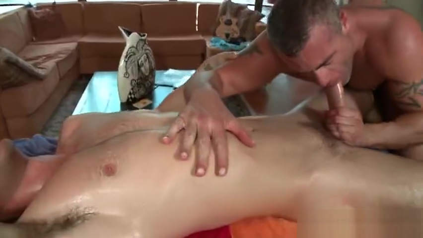 Dude gets super hot gay massage part5 Vibrator clit experiment