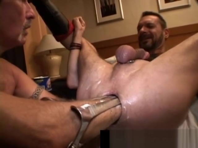 Gay dude gets his tight anus fisted part1 How long good sex lasts
