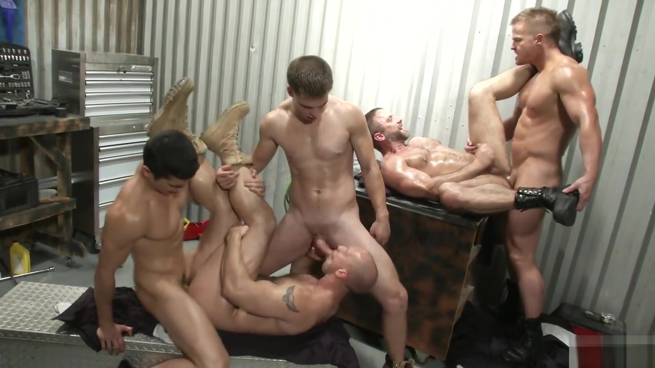 John Magnum , Jimmy Johnsn , Liam Magnusn , Lance Luciano , Dirk Caber in The Shop Free mariana cordoba hardcore pics