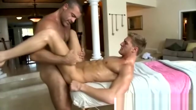 Gay masseuse penetrating his straight client Sexi Very Good