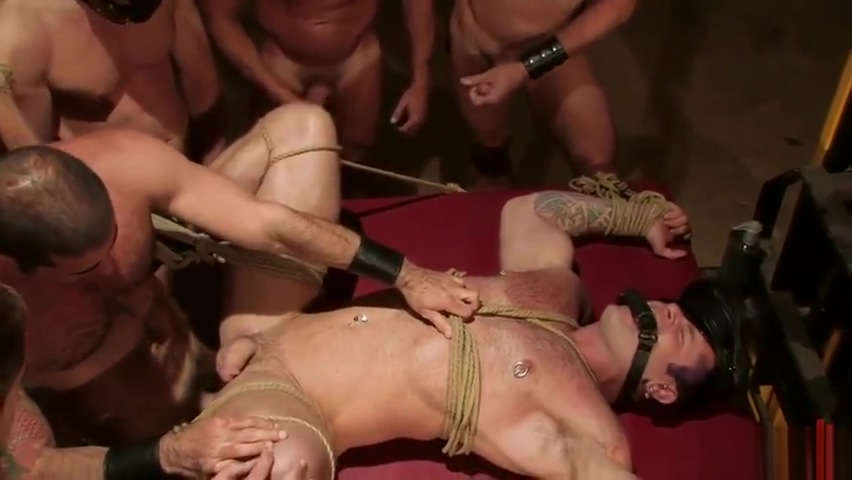 BoundGods - Tober Gangbang Why do pornstars bleach