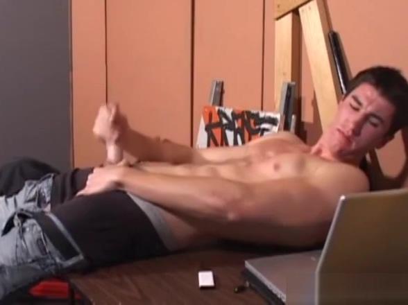 Amateur JP Beating His Stiff Meat Anniversary date sex
