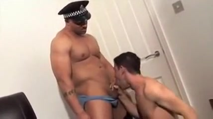 A Policeman Fucked My boy - part1 Best techniques for good blow job