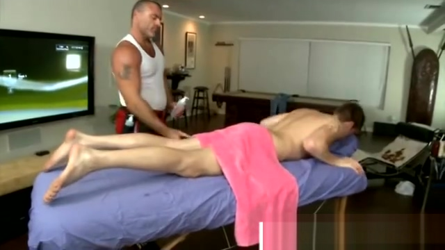 Horny gay masseuse massaging straight boy The best porn page