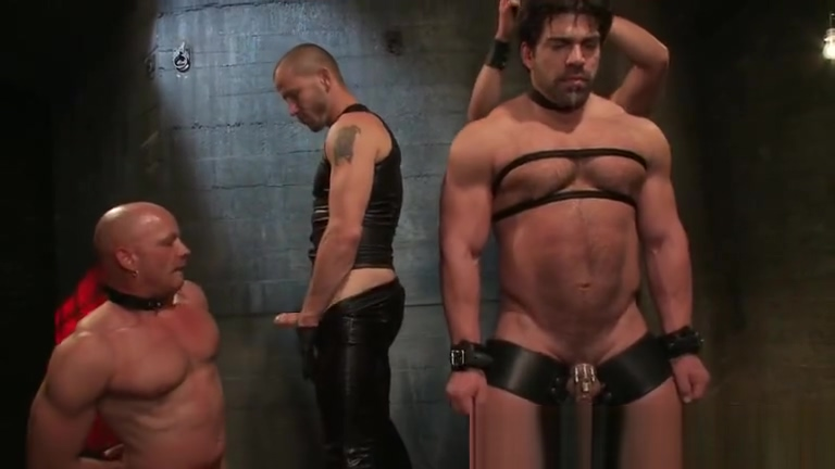 Brenn and Chad in extreme gay bondage part2 Women having sex naked hard