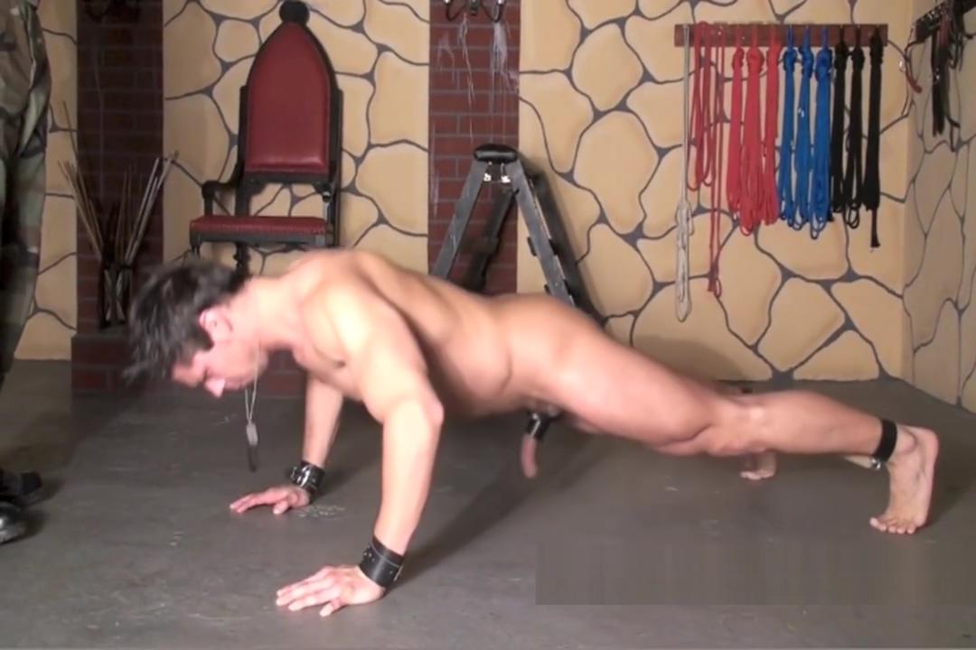 Slaveboy pony training Fat men body naked