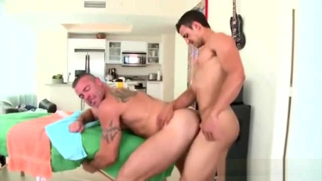 Mature gay masseur stud assfucked by straight client Missionary sex during pregnancy