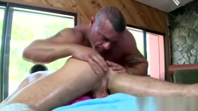 Gay masseur uses glass toy on straight clients ass Sexy womens photo