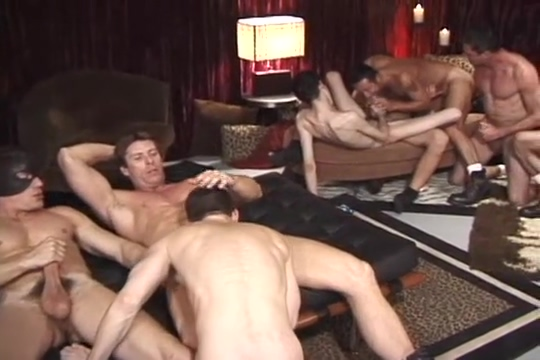 A giant suck orgy painful anal gay sex