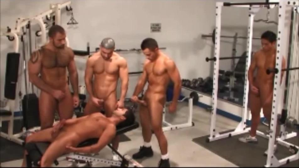 Muscle Group J/O: Alex Baresi, Michael Vincenzo, Francois Sagat, Jherrad Lopez, Dominic Pacifico my first sex yeacher