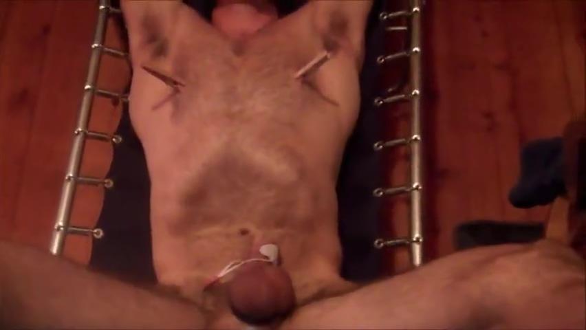Hunk spread-tie feet torture hien camera fuck movies