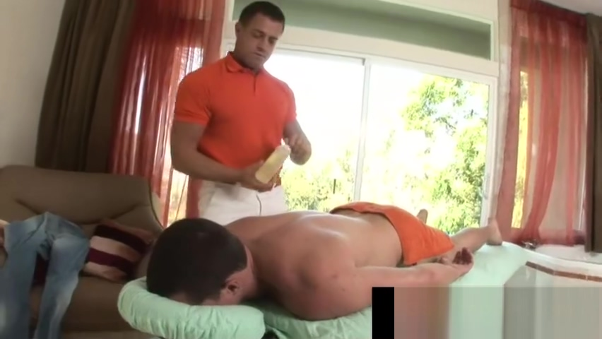 Horny massage guy is really gay Jenni Lee having cool screw with Ralph Long