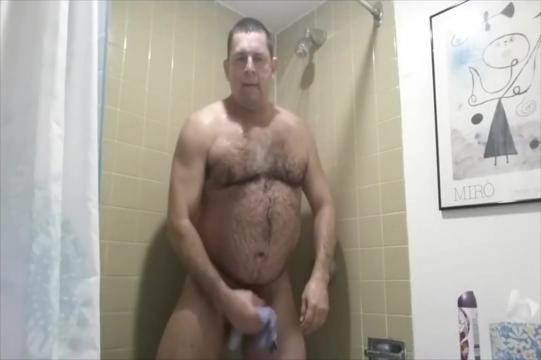 Coach takes a shower Hot older womens
