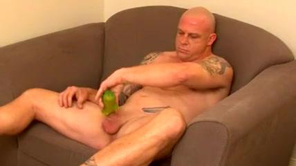 Handsome tattooed man hidden camera live sex