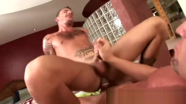 Tattooed dude has his ass penetrated Nikki Sexx Sex Movies HD