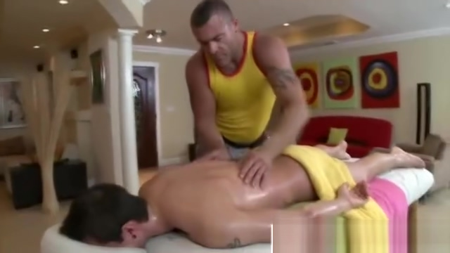 Straight guy rubbed down by gay masseur with wandering hands Cheryl cole nude fakes