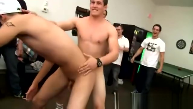 Naked students playing ping pong Lick library review