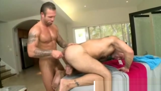 Hunk shoves dildo up masseurs ass Girls Playing With Vibrator