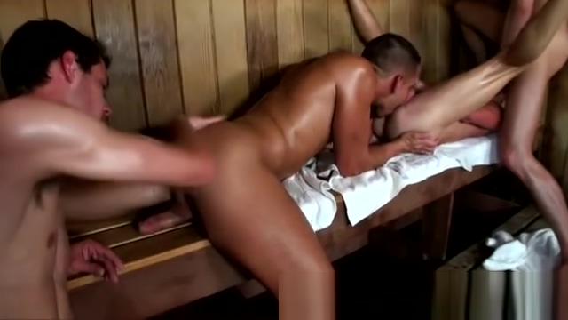 Group of guys giving bathhouse blowjobs Japanese bear