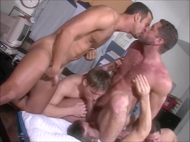 Serviced (final orgy) Old White Trash Shared Amateur