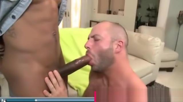 Bearded guy loves big black dicks kate von d pussy
