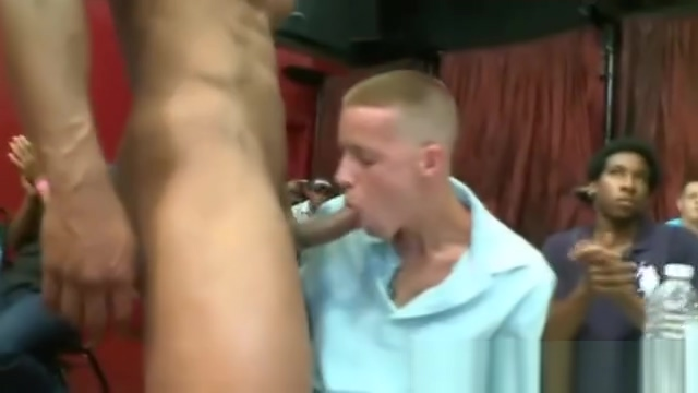 Regular guys suck male strippers Double penetration for hot chick