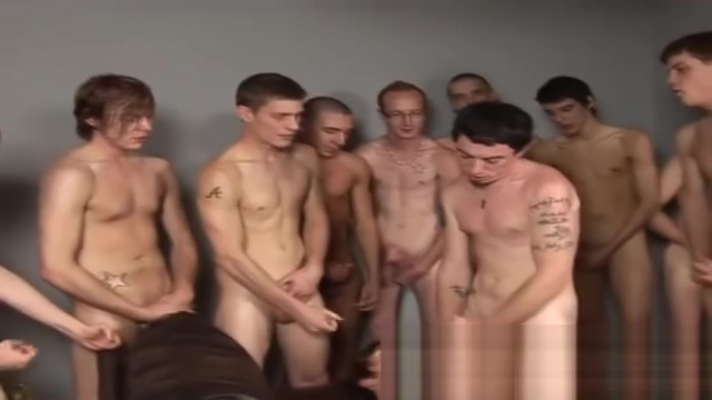 Amateur twink gets bukkake in reality gay groupsex Pics of women fucking men