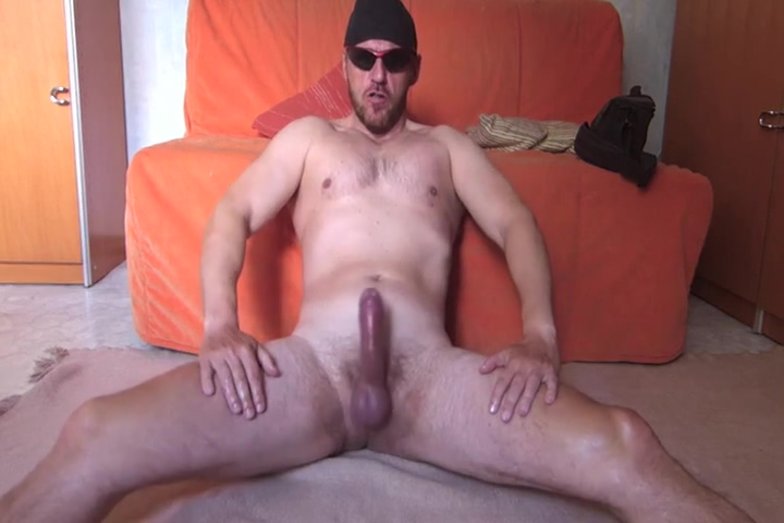 Masculine daddy jerks off 2 Big cock too big
