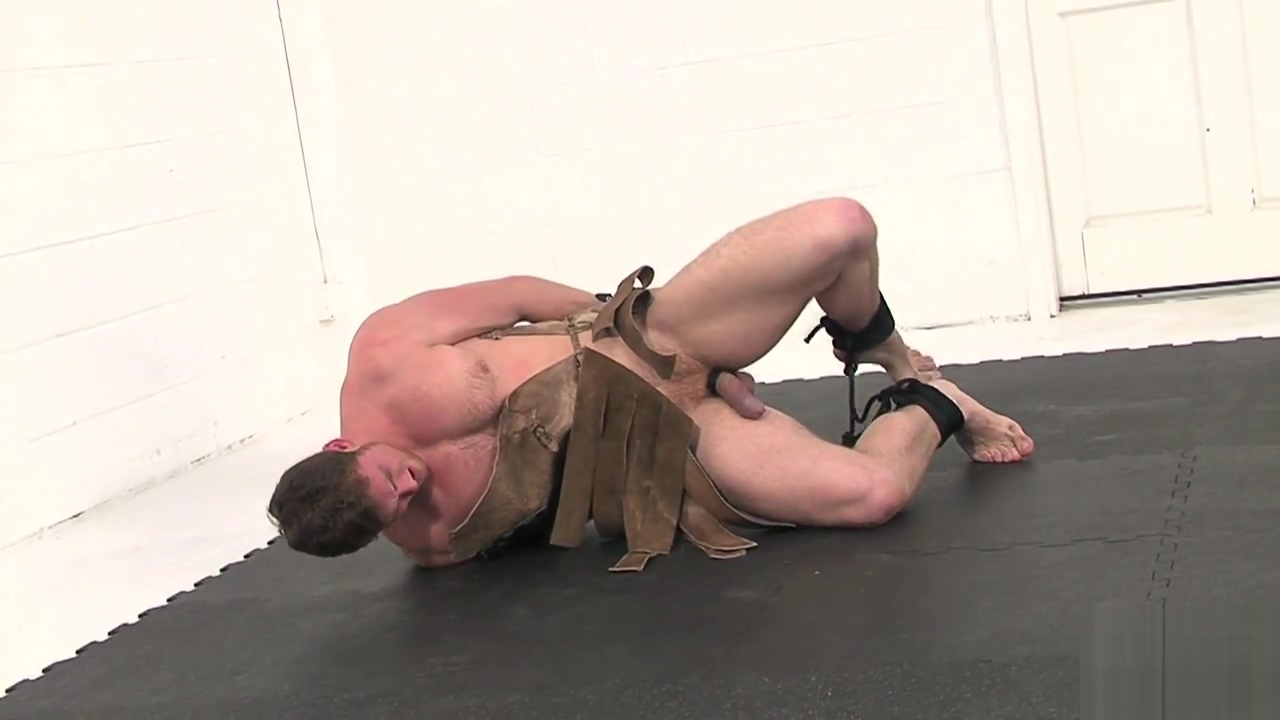 BoundJocks Connor the Barbarian how to come from the anal