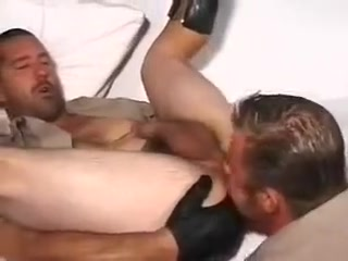 Hot Smoking C.H.P. Cops Hot brunette milf licked and banged