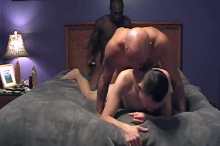 Hot Threesome with Muscle Daddy Diana doll porn big cock