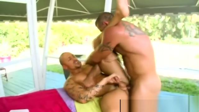 Gay bear licks cum off straight guys dick after anal Hispanic houston