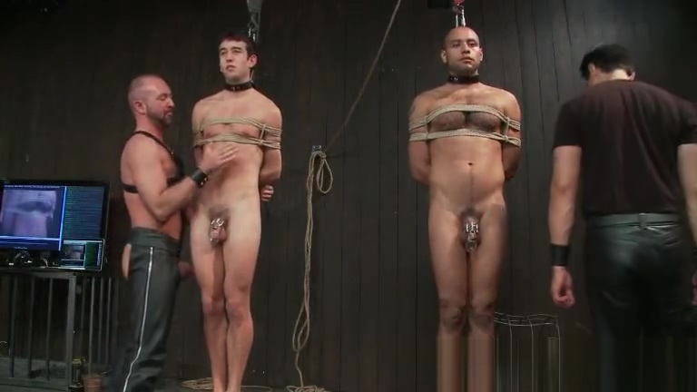 Gay slaves get electro therapy from part5 Naked indian girls getting fuckd