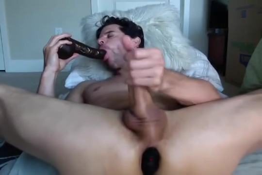 GT Sucks Dildo and Eats His Own Cum on CAM Im 22 dating a 40 year old