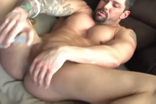 Adrian fucks his hole with a dildo american hot sexy photo