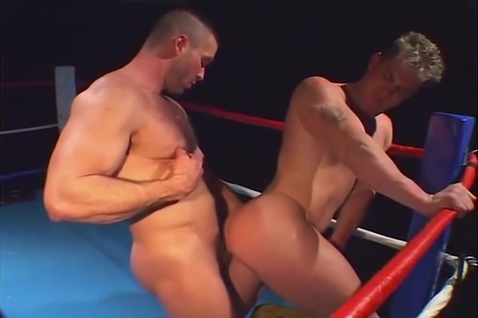 Caesar and Chris fuck in the ring black babe interracial cumshots