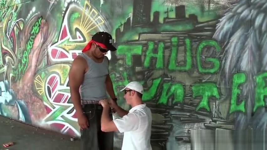 Black gay thug sucking and fucking two part2 casting film amateur x