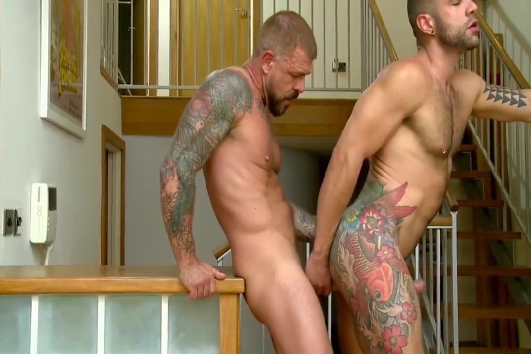 Letterio and Rocco share a 10 incher bareback top 25 hottest brunnettes pornstars