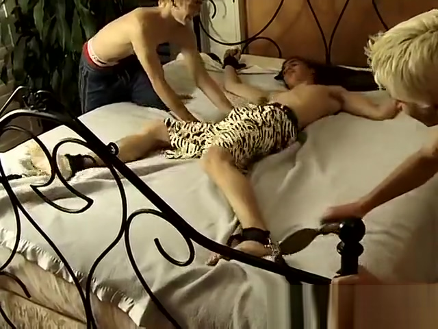 Foot fetish nude gay twink movietures Tickle For Evan xxx video in room