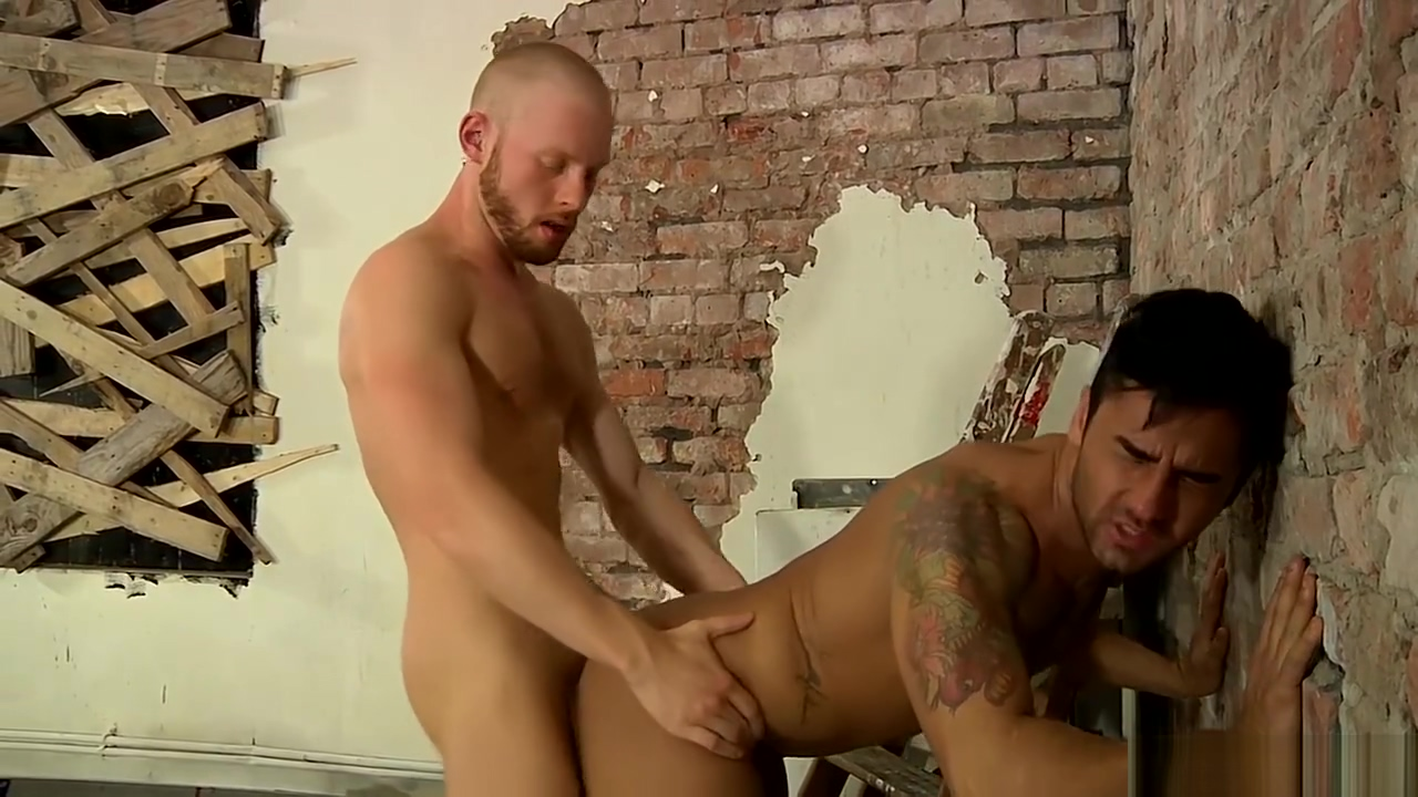 Handsome homo with cute tattoos gets drilled by his lover French mature marina fucked in a threesome
