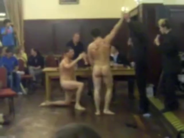 College men wrestle naked in classroom love story about mom