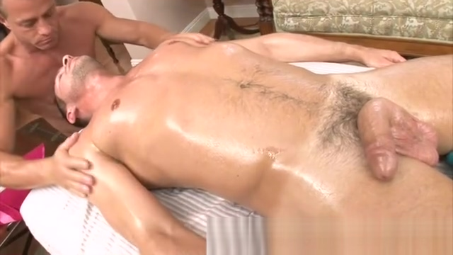 Straight guy turned by hot massage Sharing a vibrator