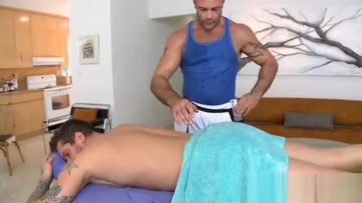 Massage guy enjoys his work with straight guys Nude woman blowjob dick cumshot