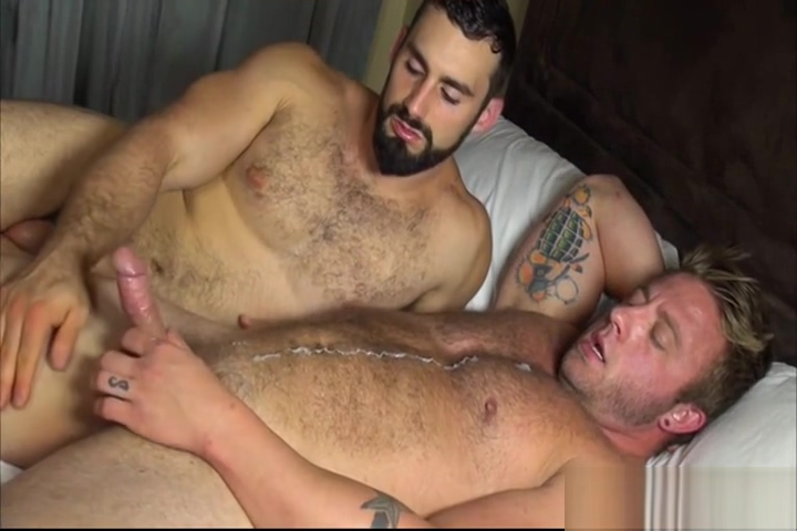 Aaron Bruiser and Jaxton Wheeler Condom Sex Lesbian in panties pussy licked in bed