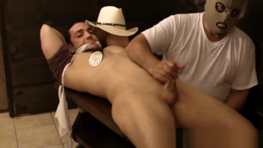 Cowboy Franco bound gagged stripped and jerked off. speculum fetish photo galleries