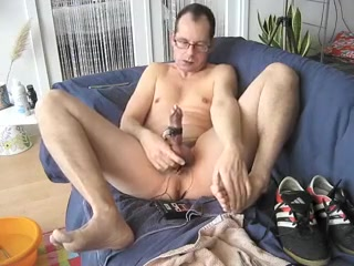 Bare feet, Adidas, poppers, sounding and cum! view superbowl porn clip