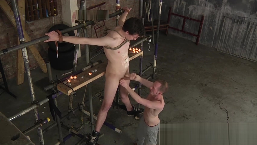 Deviant master Sean Taylor gives his twink slave a handjob first time sexi video