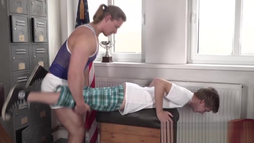 Twink gets absolutely demolished from behind by a hot hunk Original Sax Daunlod