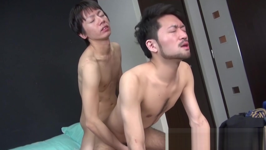 Cute Oriental gay takes it up his tight asshole doggy style tiny granny gang bang