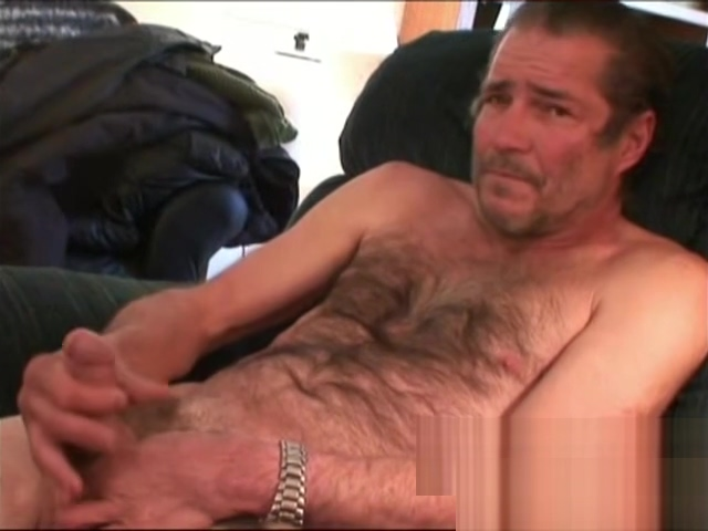 Handsome old boy plays with his cock and squirts cum Mature Orgy Creampie
